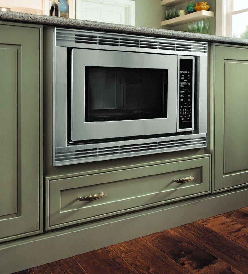 Base Builtin Microwave Cabinet  kitchen_island