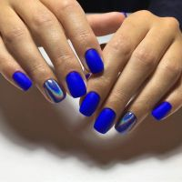 Sweet Cotton Candy Nail Colors and Designs | Matte nails ...