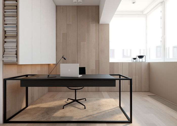 super simple homes with light wood panels and matte black accents minimalist furniture designs also