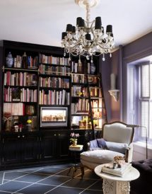 Small Beautiful Home Libraries