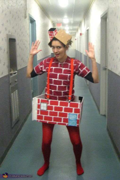 Brick House Costume Homemade Halloween Halloween Costumes And
