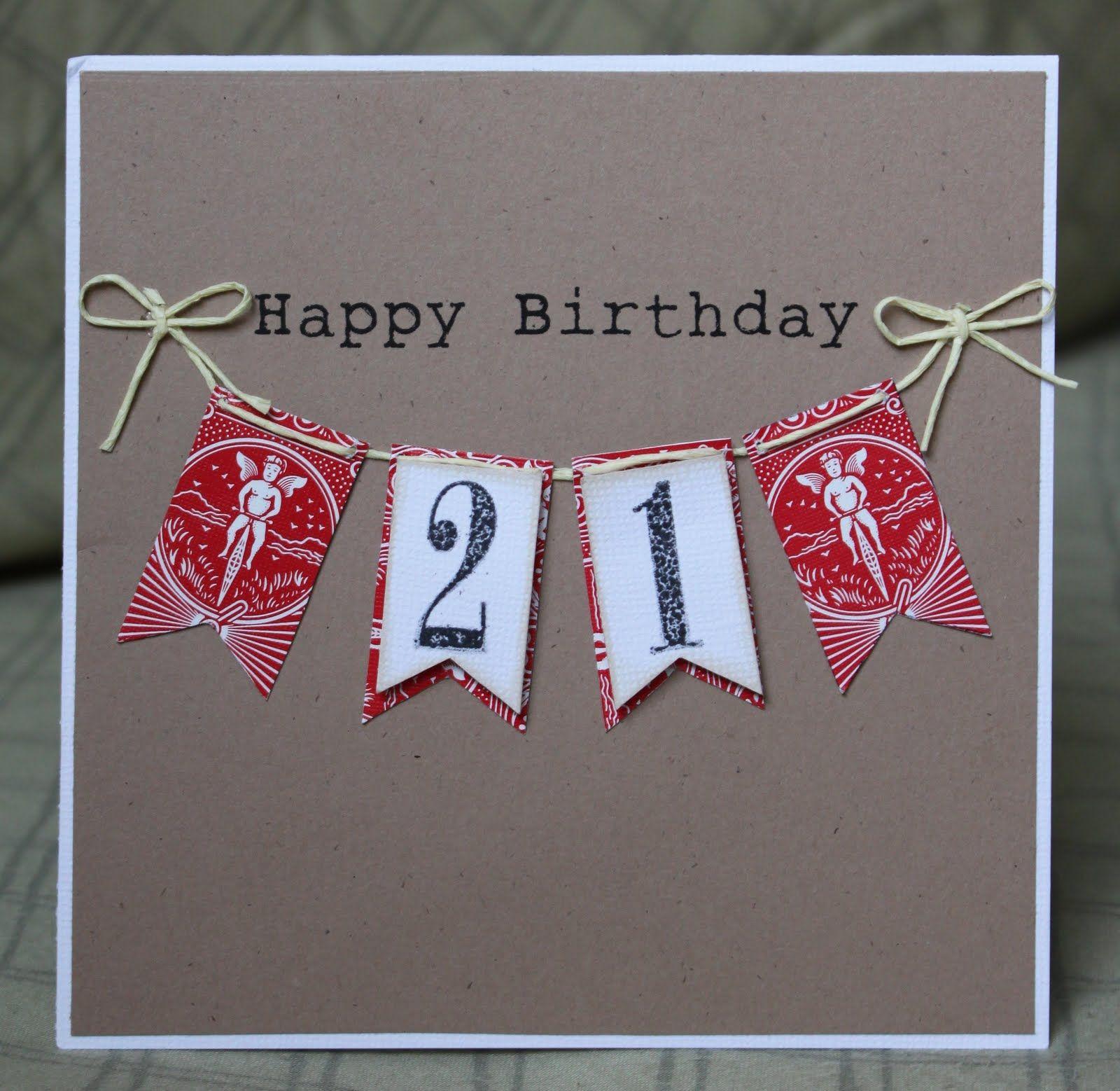 The 25 Best 21st Birthday Cards Ideas On Pinterest Man