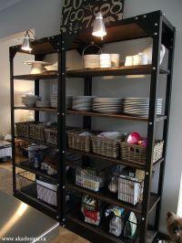 10 Restoration Hardware Hacks | Industrial shelves ...
