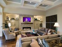 family room with vaulted ceilings | Family Room ...