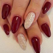 nice burgundy & gold design