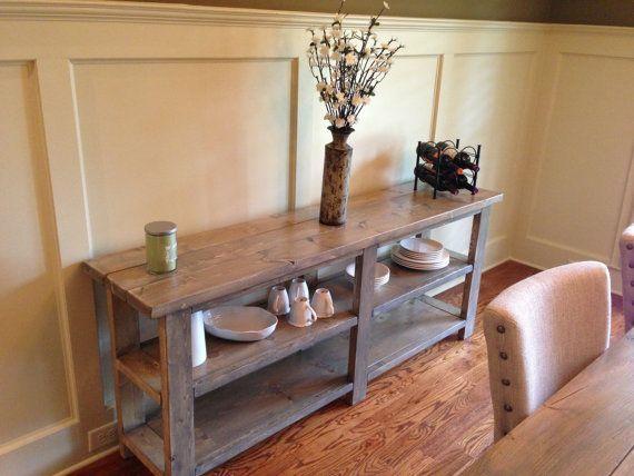 SofaBuffetSide Table Farmhouse on Etsy 42500  LONG