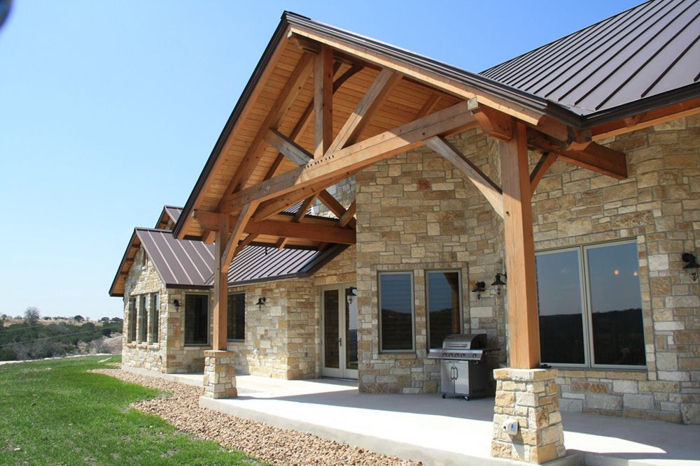 Texas Timber Frames Galleries Timber Trusses