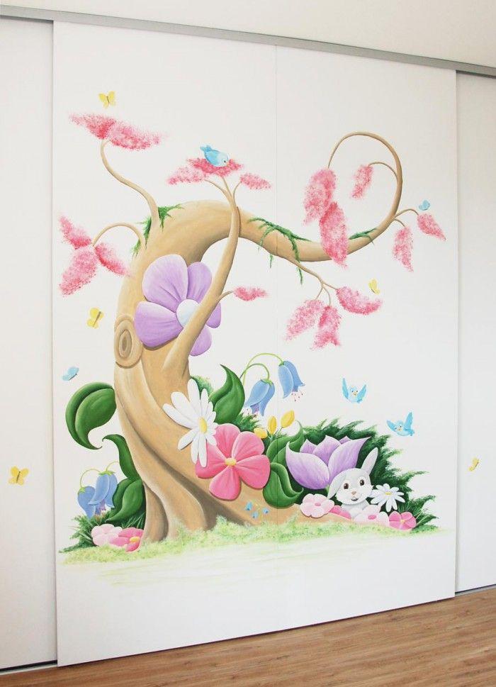 Muurschilderingen babykamer  wandschilderingen