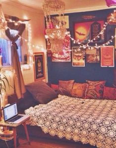 love the colours in this room and lighting is so whimsical home decor hippie vintage bedroom boho indie bed retro bohemian interior design also   like to introduce you my next year pinterest rh