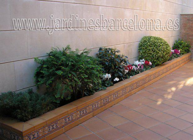 Diseo de jardines pequeos  jardines  Pinterest  Patios Gardens and Small places