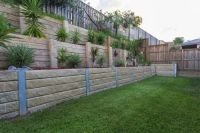 Garden and Backyard Retaining Walls | Garden blocks ...