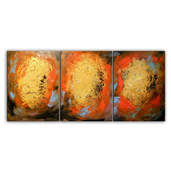 Art original painting abstract canvas wall by mattsart also rh pinterest