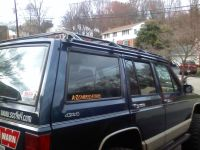 Square tube roof rack... What sizes have you guys used ...