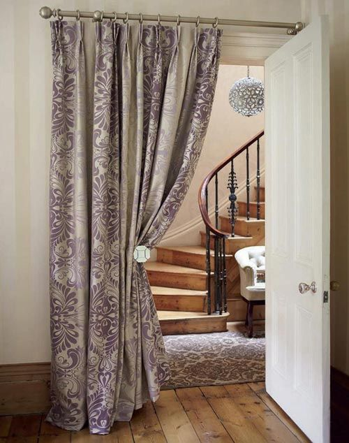 A Curtained Doorway The Doors Therapy And House
