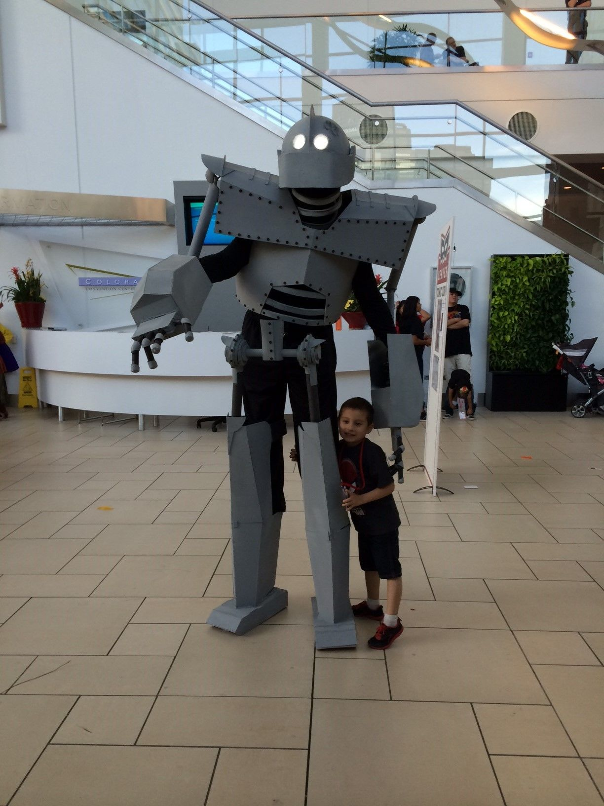 My Iron Giant From Dcc Love The Kiddos Reaction To The