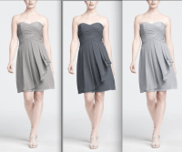 Colors for possible bridesmaid dress (mercury, pewter ...