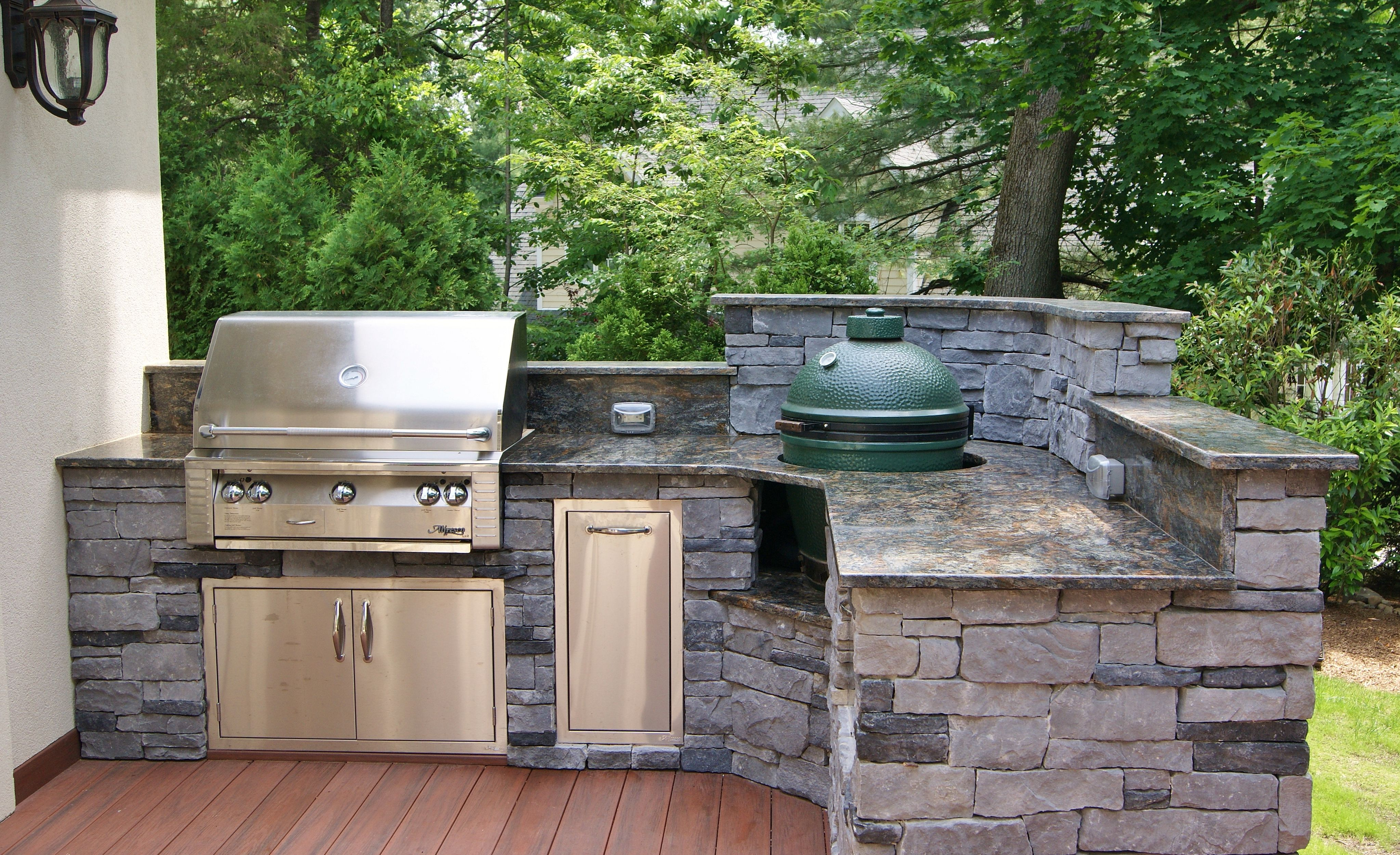 grills for outdoor kitchens moen kitchen faucet schematic photos custom big green egg