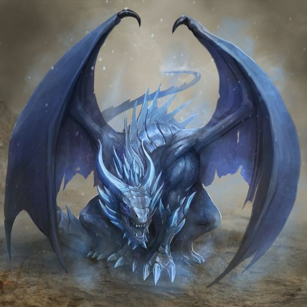 Ice Dragon Babaganoosh99 Deviantart Dragons