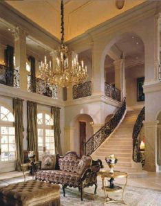 Luxury mansion living room design with grand staircase also elegant beautiful homes  rooms pinterest stair case rh