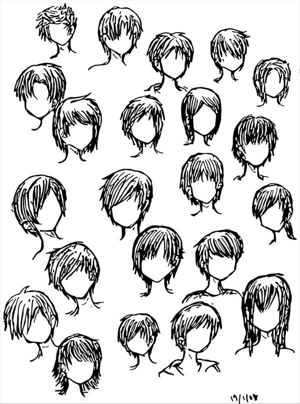Hairstyles For Anime Guys Hairstyles Hair Trend 2017