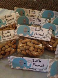 Little peanut. Baby shower. Boy. Elephant | crafts ...