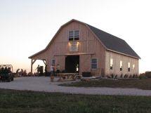 Gambrel Roof Pole Barn Plans