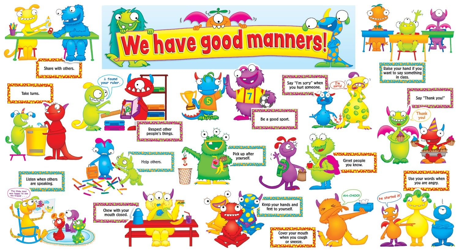 Good Manners For Kids Preschool Perfect For First Day Of Co Op Class With The Discovery Kids