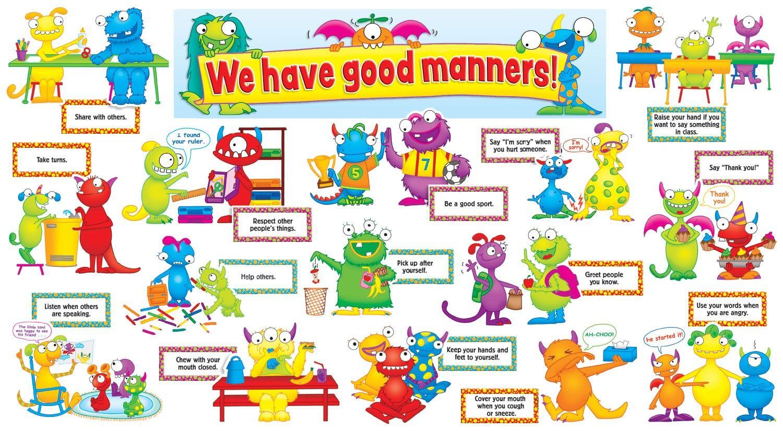 Preschool Themes Manners