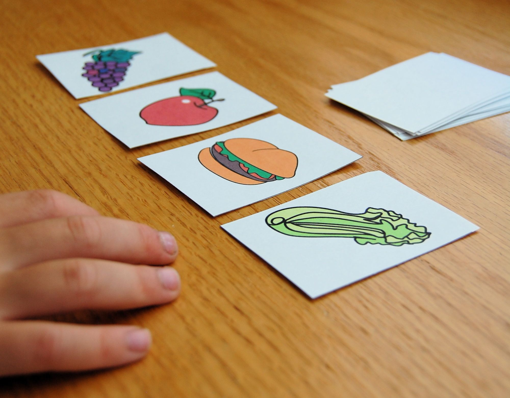 Food Groups Game Found In About Me Activity Book