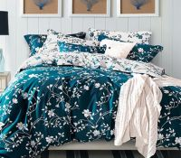 Moxie Vines - Teal and White - Twin XL Comforter | Twin xl ...
