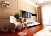 Living room tiles TV background wall | Living Room ...