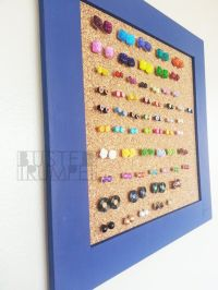 Diy Post Earring Holder