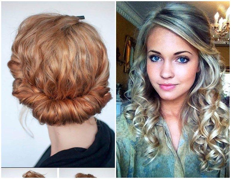 Frisuren Mit Locken Halb Hochgesteckt Hairstyle Frisuren