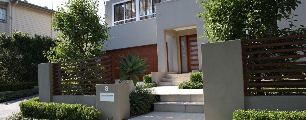 Modern Front Yard Landscaping Ideas Landscape Designer Sydney