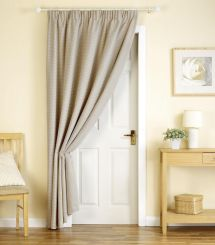 Door Curtain Home Ideas 1. Primitive Decor