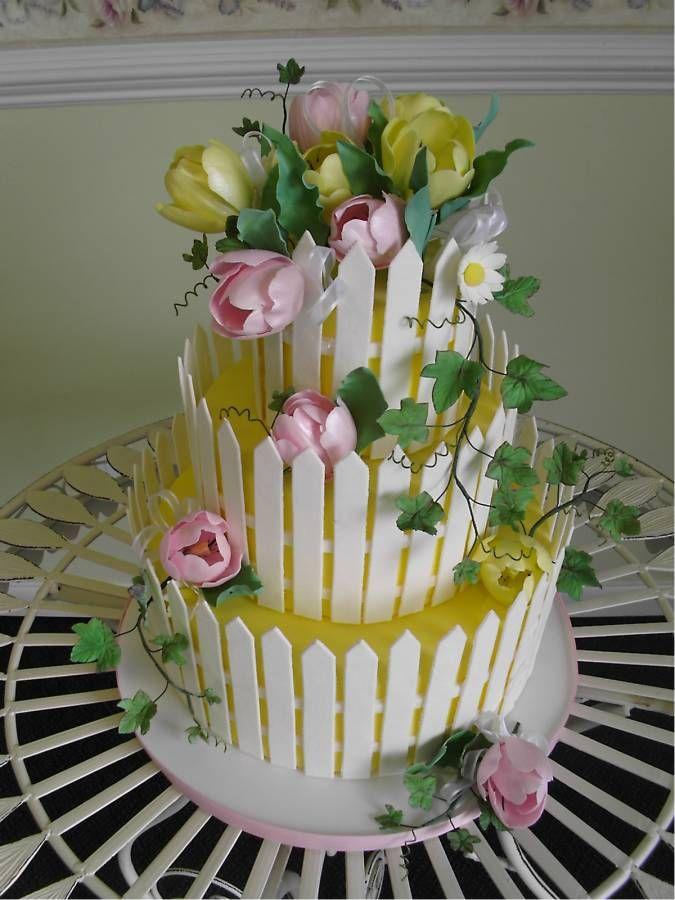 Pinterest Farm Gardens Pin Fondant Covered Cake With Cake