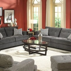 Sofa Sets Designs And Colours In Kenya How To Make A Simple Outdoor Living Room Red Wall Paint Grey Sofas Color