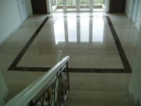 marble floor with black granite border   Marble Floor ...