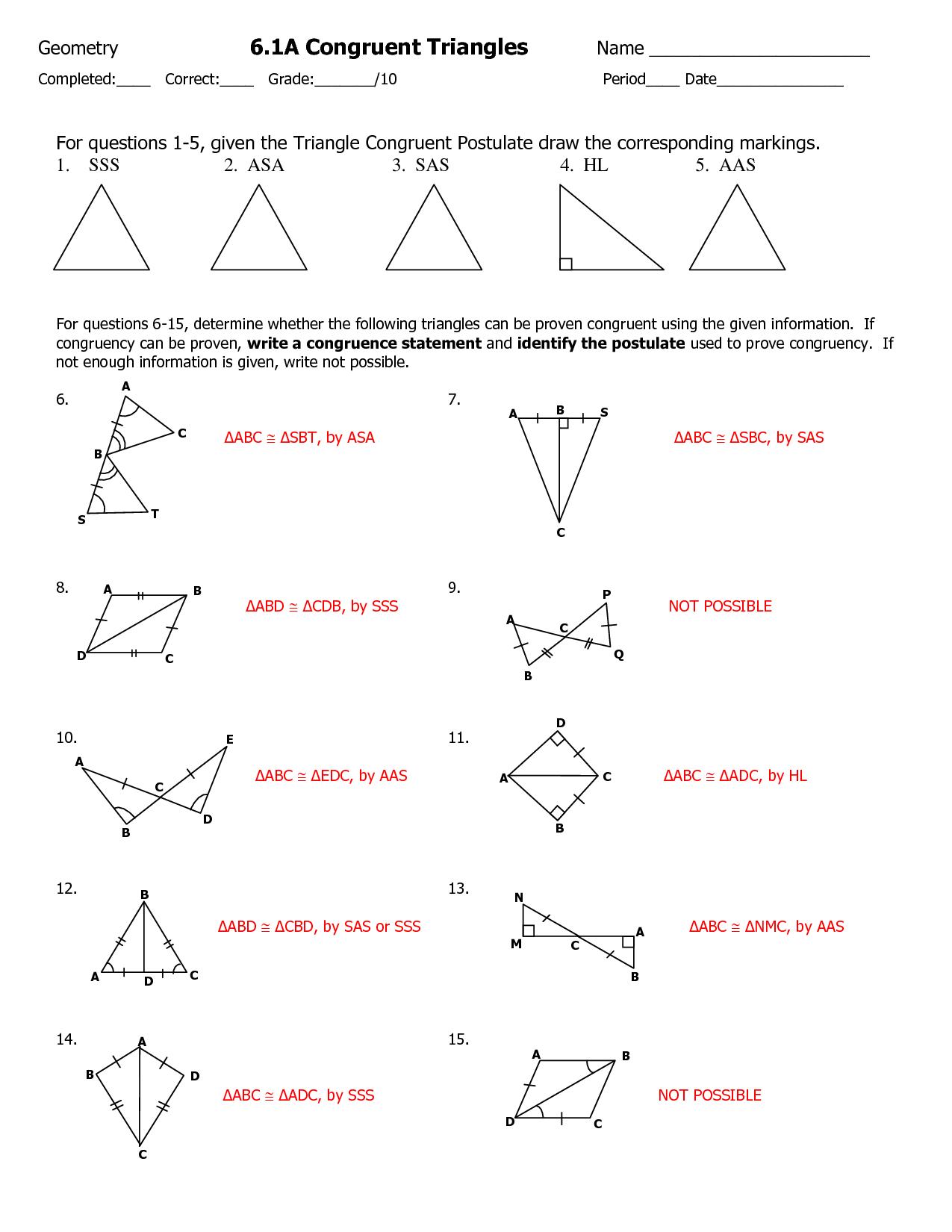 Worksheet Types Of Triangles Worksheet Worksheet Fun