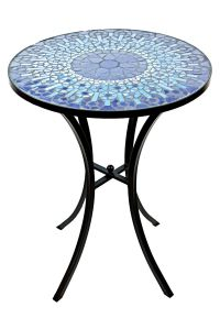 Mosaic Accent Table | Tile patterns, Outdoor decor and Mosaics