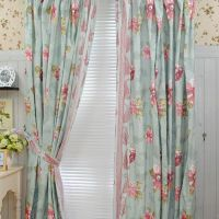 Bedroom Country Girls Like Cotton Blending Curtains (Two ...