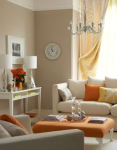 Decorating with orange roomsliving also fans room and real simple rh uk pinterest