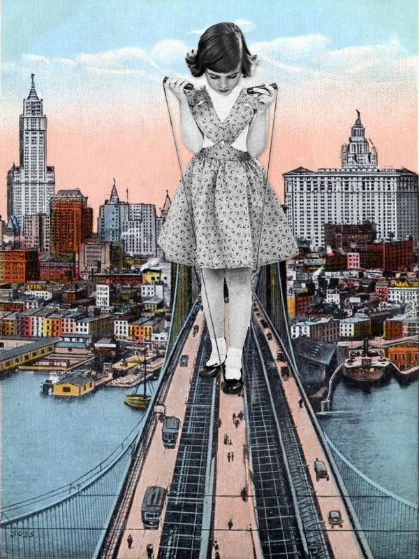Surreal Art Collage Pinterest