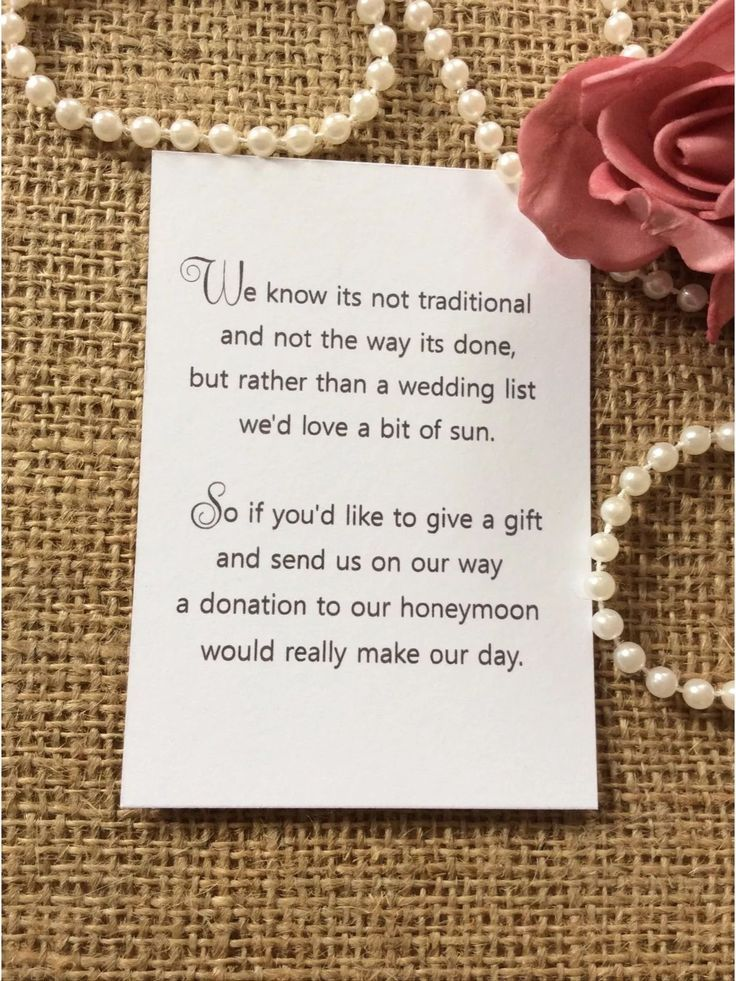 Image result for how to ask for money instead of gifts in