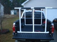 Cheap or DIY Kayak rack(help, need to get a 13ft yak in a