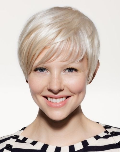 Very Short Hair Styles For Fine Hair Hairstyles For Women Over