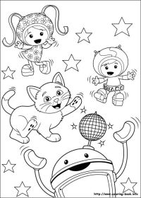 Umizoomi coloring picture | Coloring and Activities ...