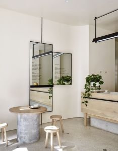 The stella collective has transformed this inner city cafe into  celebration of coffee  imagination lush tropical escape from surrounding hustle also workshop brothers hana hakim est living rh pinterest