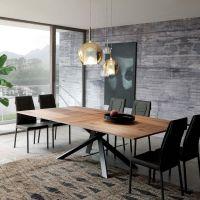 Der Ozzio Tisch 4x4 ist ein Design Esstisch mit besonderem ...