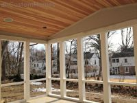 Homewood in Kirkwood  Vaulted Porch Ceiling & PVC Framing ...